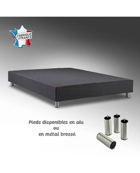 sommier tapissier fran ais disponible plusieurs tailles alicia. Black Bedroom Furniture Sets. Home Design Ideas
