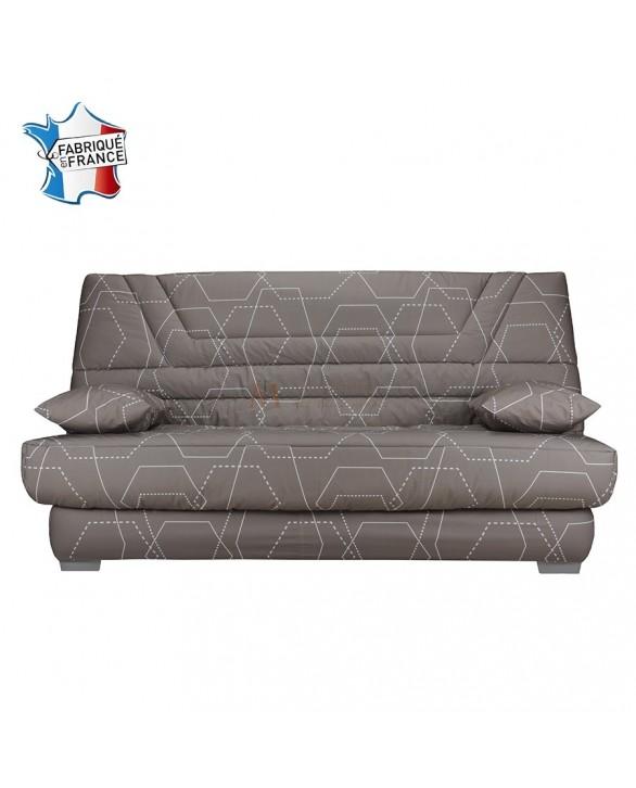 banquette clic clac matelas bultex 14 cm fabriqu en france. Black Bedroom Furniture Sets. Home Design Ideas