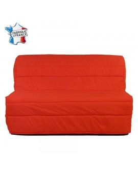 Banquette bz couchage 140 x 190 cm de couchage EVA tissu rouge A204