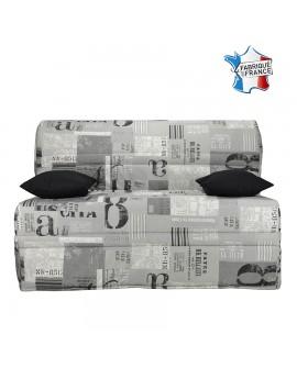 Banquette BZ large couchage de qualité fabriqué en France tissu B318