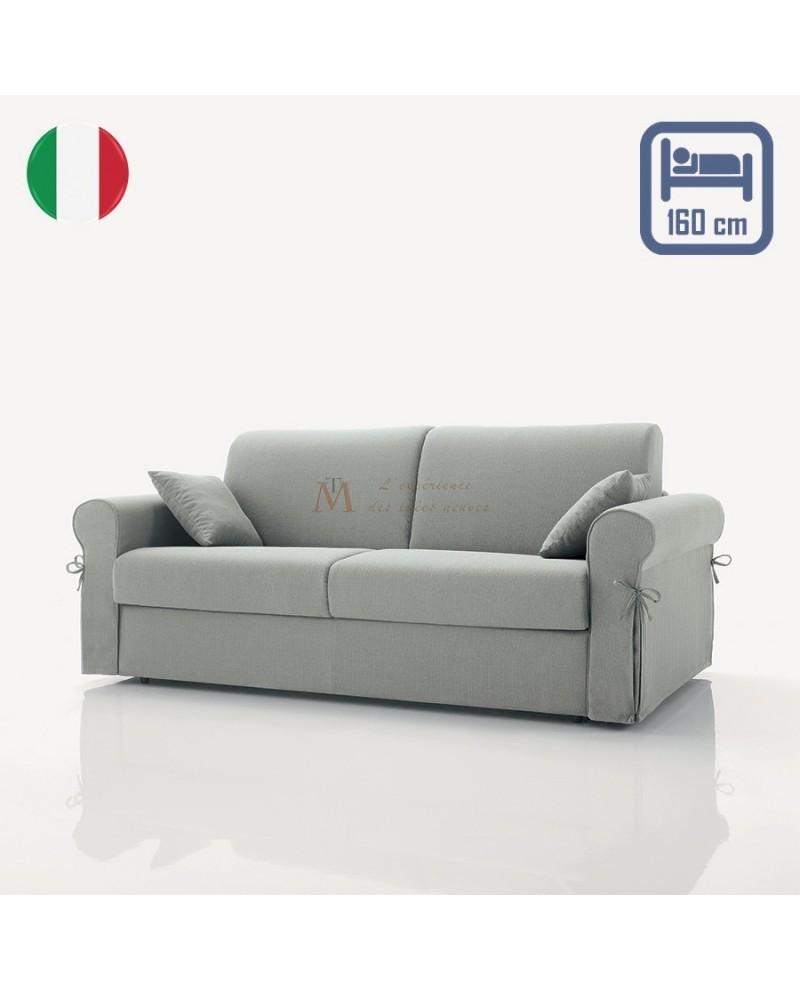 Canapé rapido ARENA 3 places maxi couchage 160 cm conversion facile et sans effort