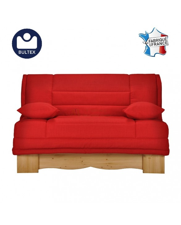 canap lit bz style montagnard grand couchage 140 x 200 cm. Black Bedroom Furniture Sets. Home Design Ideas