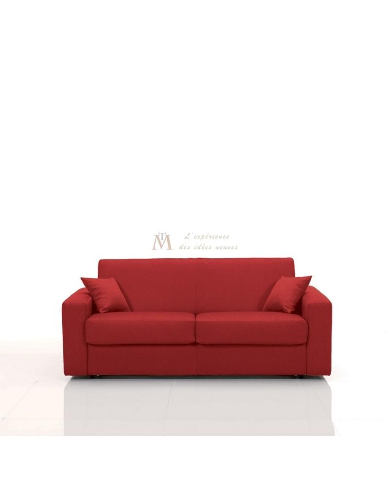 canap lit rapido couchage 120x190 cm rev tement microfibre. Black Bedroom Furniture Sets. Home Design Ideas