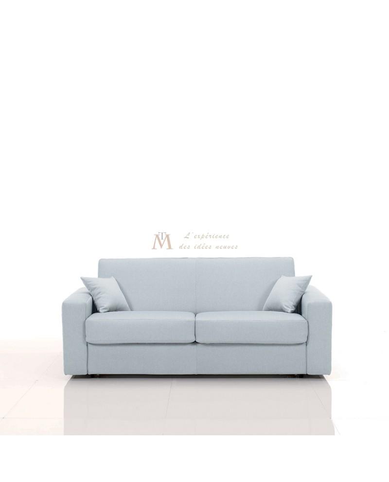 Canapé rapido SALLY couchage 140 cm revêtement tissu SI-22