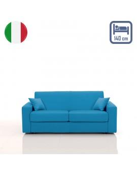 Canapé rapido SALLY couchage 140 cm revêtement tissu SI-15