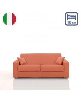 Canapé rapido SALLY couchage 160 cm revêtement tissu SI-07
