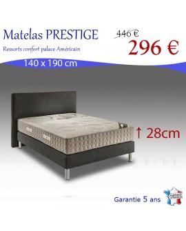 Matelas prestige grand confort avec ses 660 ressorts ensachés, fabriqué en France