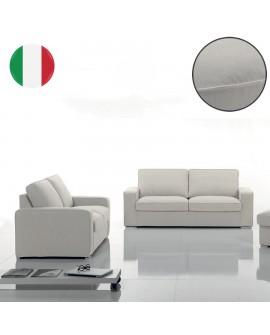 Canapé moderne 2 et 3 places revêtement tissu déshabillable YANNA