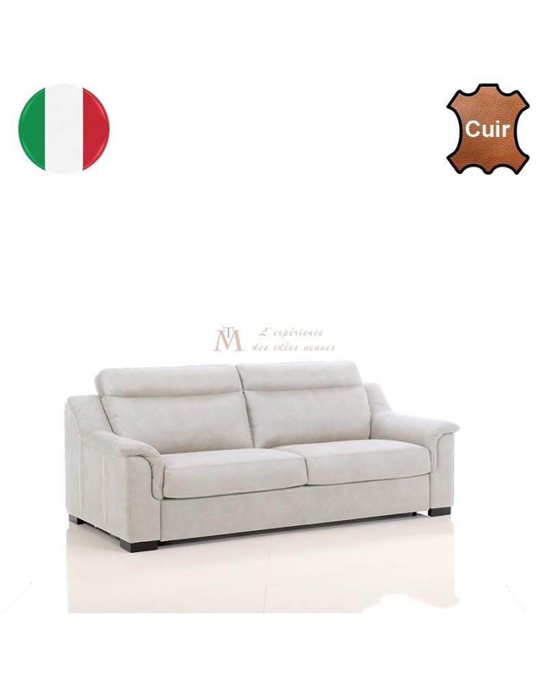 canap contemporain 2 ou 3 places confort cuir 8 coloris. Black Bedroom Furniture Sets. Home Design Ideas