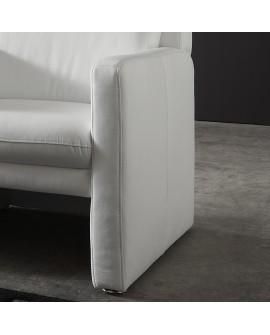 fauteuil club grand confort cuir vachette blanc bolivia Résultat Supérieur 50 Merveilleux Fauteuil Cuir Club Photographie 2017 Kae2
