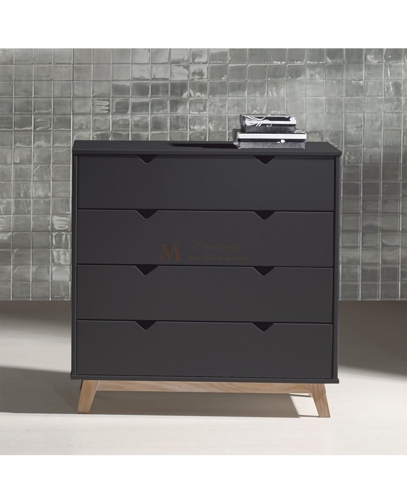 commode grise anthracite. Black Bedroom Furniture Sets. Home Design Ideas