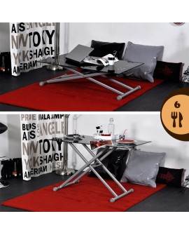 Table de salon et table basse pour int rieur de qualit - Table basse gain de place ...