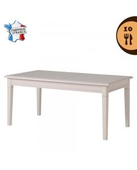 La table de salle à manger ERINA sans les deux allonges