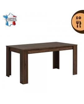 La table de salle à manger TOULOUSE pour 8 à 10 couverts sans son allonge