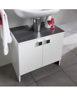 Meuble sous lavabo 2 portes de la salle de bain contemporaine ZURICH