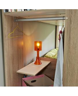 lits superpos s gain de place armoire penderie et tiroir int gr s. Black Bedroom Furniture Sets. Home Design Ideas