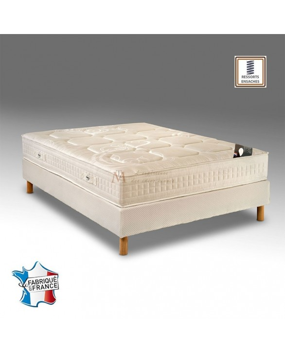 matelas 828 ressorts ensach s 7 zones fabriqu en france. Black Bedroom Furniture Sets. Home Design Ideas