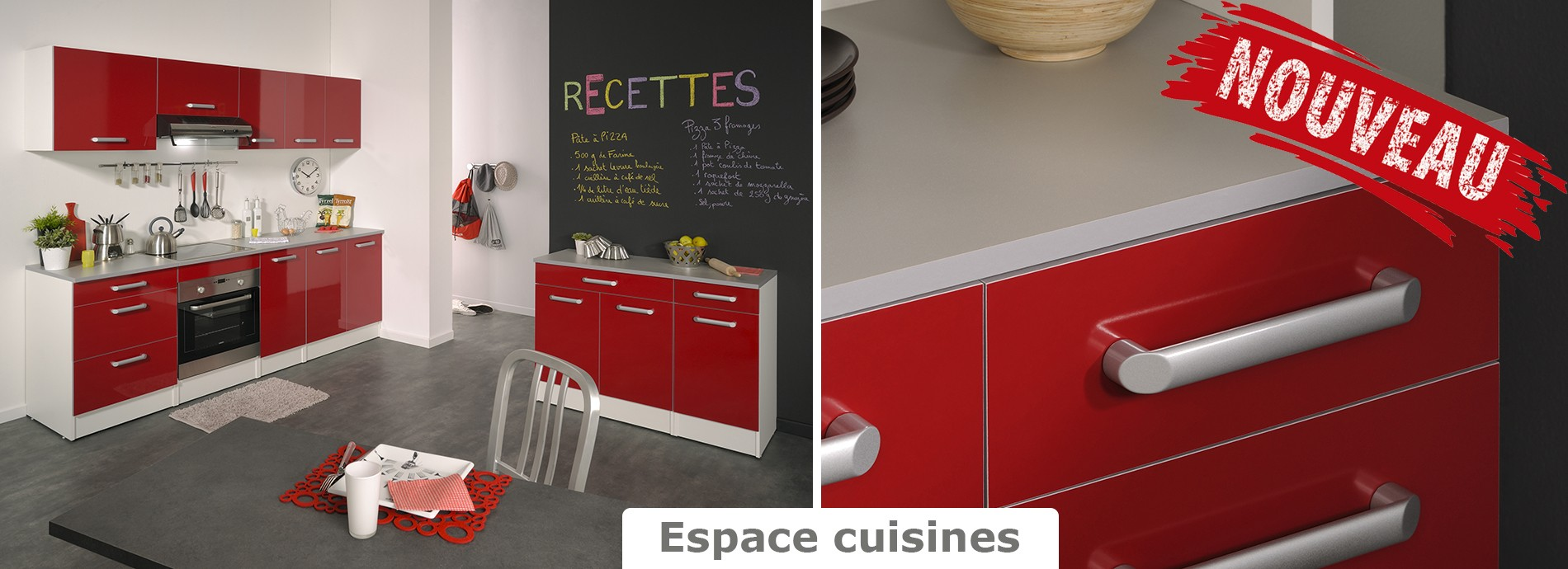 Nouvelle collection de cuisines de qualité fabriquées en France